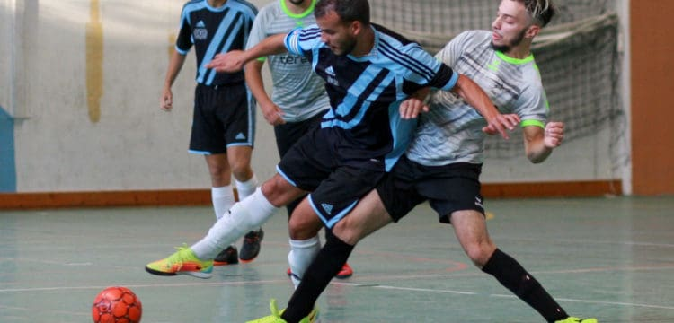 Futsal Lac Annecy face au Futsal des Geants